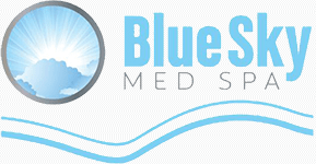 Logo for Blue Sky Med Spa located in McHenry, Illinois